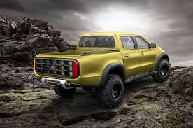 mercedes benz reveals midsize x class pickup concept photo u0026 image