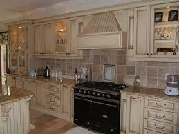 kitchen tile backsplash ideas with white cabinets artistic