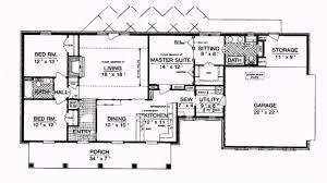 Ranch House Plan by Ranch Style House Plans 1800 Square Feet Youtube