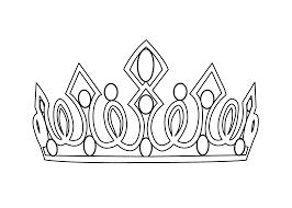 tiara coloring page getcoloringpages com