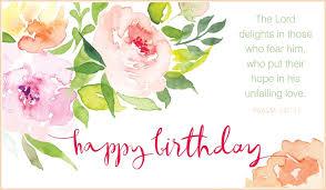 Psalm          Happy Birthday
