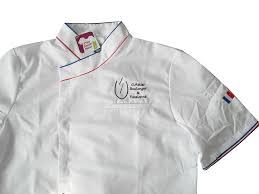 tablier de cuisine personnalisable veste de cuisine mc france brodée blog mestenuesperso