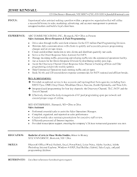 good sales cv   how to write a sales resume happytom co