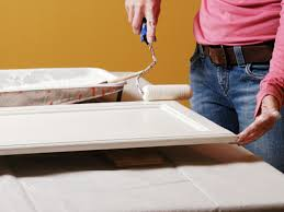 Enamel Kitchen Cabinets by How To Paint Kitchen Cabinets How Tos Diy