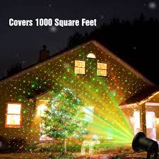 amazon com innoolight laser christmas lights show red and green