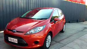 2010 ford fiesta wt lx orange 5 speed manual hatchback youtube