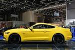 2015 Ford Mustang makes first public European appearance at Geneva.