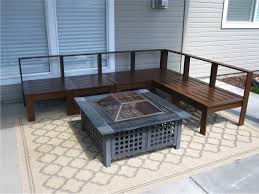 Building Outdoor Wood Furniture by Outdoor Sectional Do It Yourself Home Projects From Ana White