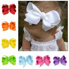 aliexpress com buy 20pcs lot 6 inch large ribbon bow hairpin