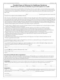 Free Printable Medical Power Of Attorney by Health Care Power Of Attorney Form 46 Free Templates In Pdf