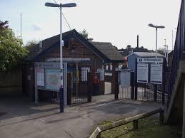 Haydons Road railway station