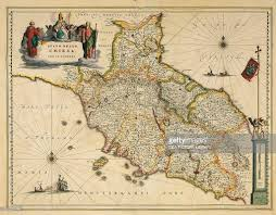 Tuscany Map Map Of Tuscany Region From Atlas By Willem Janszoon Blaeu 1663
