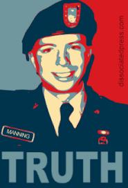 Soldaat Bradley Manning gaf donderdag in de militaire rechtbank in Fort Meade, Maryland, voor het eerst toe dat hij geheime documenten in handen heeft ... - bradley-manning-faireyfied-225