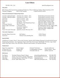 Journeyman Electrician Resume Sample by Lane F Ellison Portfolio Electrician Resume Theatre
