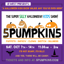5pumpkin5 the super silly halloweeny kids show l a parent