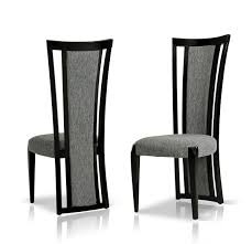 Black And White Dining Room Chairs Libra Modern Fabric Dining Room Chair Fabric Dining Room Chairs
