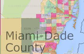 Florida Area Code Map by Miami Dade County Zip Code Map Zip Code Map