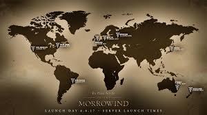 Morrowind Map Eso Morrowind Launch Timings Revealed