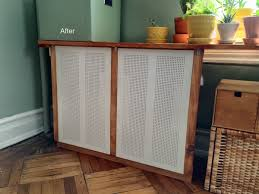 Ikea Dining Table Hacks Got An Ugly Radiator Cover It With Ikea Algot Ikea Hacks