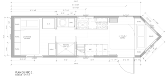 How To Design A Floor Plan Of A House by Tiny House Lumbec Le Projet 2015