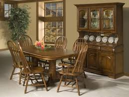 Country Style Dining Room Country Style Dining Room With Cappuccino Finish China Cabinet
