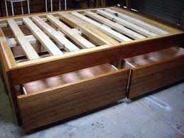 Diy Platform Bed Frame Designs by Bed Frames Diy Platform Bed Plans Twin Bed Construction Plans