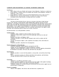Deputy Sheriff Job Description Resume by Safety Director Job Description Deputy Human Resource Director