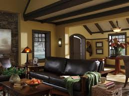 Living Room Colors With Brown Furniture Molding And Trim Make An Impact Hgtv