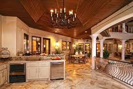 interesting tuscan outdoor kitchen style home design 1064
