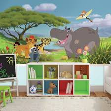 wall decals murals wall decor the home depot 72 in w x 126 in h lion guard xl chair