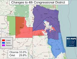 Map Of Clearwater Florida The Complete Breakdown Of Florida U0027s Proposed Congressional