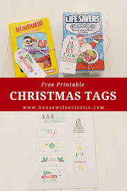 free printable christmas tags housewife eclectic