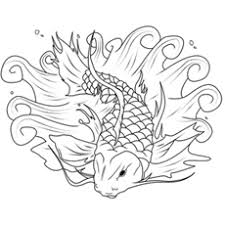 25 free printable koi fish coloring pages
