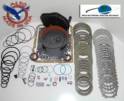 4l60e transmission rebuild kit heavy duty heg master kit stage 3