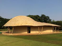 Earth Contact House Plans Bamboo Architecture Construction Earth Construction