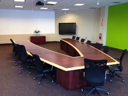 modern conference room table superb large conference table for powerful employees decorative