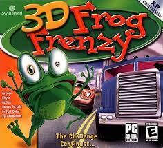 الضفدع الشهيره Frog Frenzy
