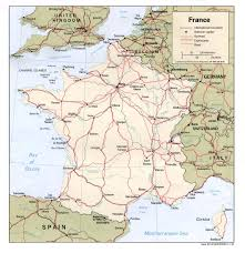 Map Of France And Switzerland by Download Road Map France Major Tourist Attractions Maps