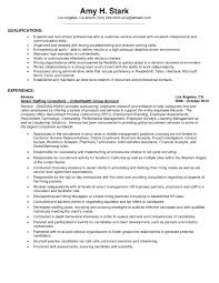 Sample Resume With Summary Of Qualifications   Sample Resume