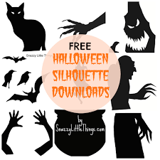 witch silhouette png free downloads halloween window silhouettes snazzy little things