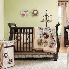 Gender Neutral Nursery Bedding Sets by Baby Nursery Cool Boy Baby Crib Sets Decor With Cute Wall Decal