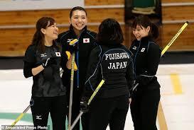Host Japan off to winning start at Asian Winter Games   Daily Mail     Japan     s Chinami Yoshida  left  Mari Motohashi  second left  Yurika Yoshida  right