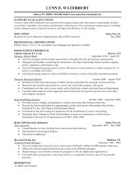Qualifications Summary Resume Example by Valet Parking Resume Free Resume Example And Writing Download
