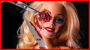 Halloween Barbie Makeup by Diy Barbie Doll Scary Horror Fx Makeup Halloween Party Youtube