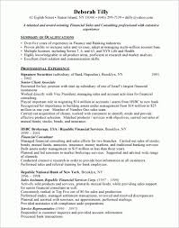 Financial Planner Resume Sample by Resume Sample Financial Advisor