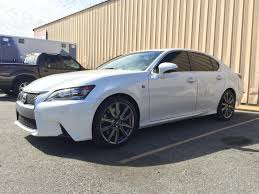 lexus gs350 wheels transformation in about 8 hours u002713 white gs350 f sport