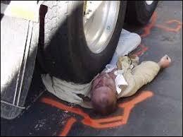 Afbeeldingsresultaat voor ongeval dode hoek