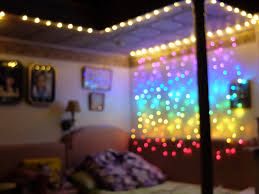 bedroom goals achieved i decorated my room using rainbow curtain