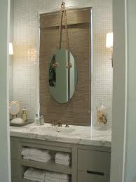 shabby chic white wooden bathroom vanity with drawrs and shelf half guest bathroom ideas