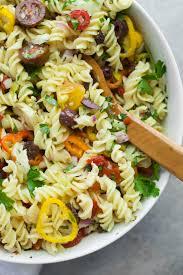 Pasta Salad Ingredients Vegan Antipasto Pasta Salad Wholefully